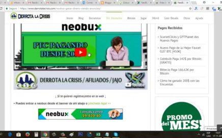 ¿Cómo Ganar Dinero Realmente con Neobux    Neobux Tutorial   Gokustian