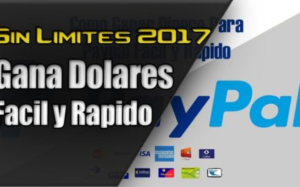 Como Ganar Dolares Fácil por Internet | PAYPAL FACIL Y RAPIDO!