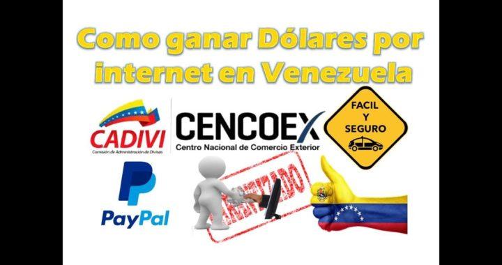 Como ganar dolares para Paypal  en Venezuela fácil y seguro.