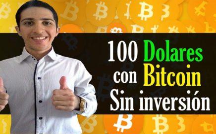 Como Ganar más de 100$ Dolares en Bitcoin sin Inversión [La mejor Pagina]