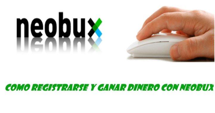 como registrarse y ganar dinero con neobux