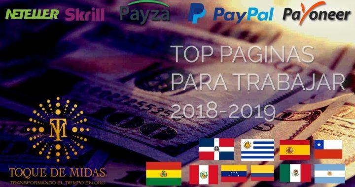 Como Trabajar En Internet Ganar Dinero Para Paypal Top Paginas Crowdsourcing