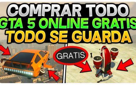 COMPRA TODO GTA 5 ONLINE GRATIS Y SE GUARDA! 1.42 *MUY FACIL*  (COCHES , AVIONES , INSTALACIÓN)