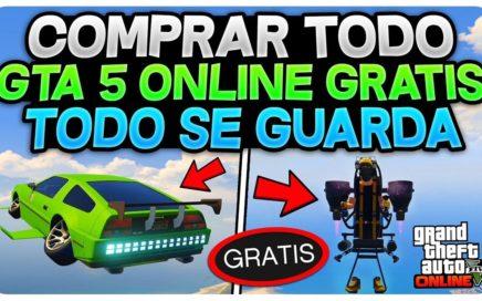COMPRAR TODO GTA 5 ONLINE GRATIS Y SE GUARDA!! 1.42 *FUNCIONA* (TODO GRATIS COCHES , AVIONES...)