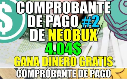 Comprobante de pago #2 de Neobux | 4.04$ Recibidos a Payza | Dinero con anuncios ofertas juegos
