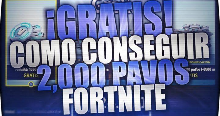 """¡¡CONSEGUIR DINERO """"PAVOS"""" GRATIS EN FORTNITE!!"""