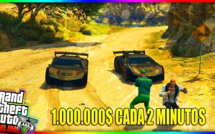 CONSIGUE C0CHES GR4TIS - TRUCO PASAR C0CHES A 4MIGOS - HASTA 1.000.000 CADA 2 MINUTOS EN GTA V 1.42