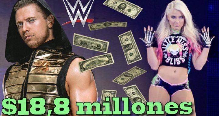 Cuánto dinero cobran los luchadores de WWE