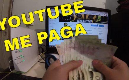 CUANTO PAGA YOUTUBE ARGENTINA google adsense cuanto se gana en youtube dinero plata ganar
