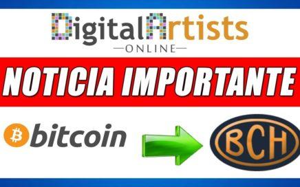 Digital Artists Online Cambia de Bitcoin a Bitcoin Cash | Gokustian