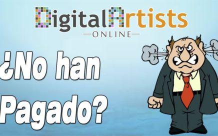 Digital Artists Online ¿Porqué no han Pagado?   Gokustian