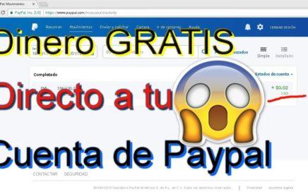 Dinero GRATIS Directo a tu cuenta de PAYPAL/HACK/ Comprobante de pago