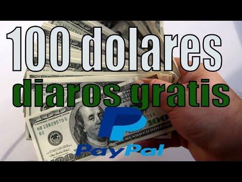DINERO GRATIS PARA PAYPAL 100 DOLARES DIARIOS 2018 !
