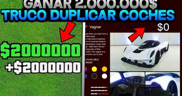 DINERO INFINITO *SOLO* SIN AYUDA +3.000.000.000$ EN 1 DÍA (DUPLICAR COCHES)