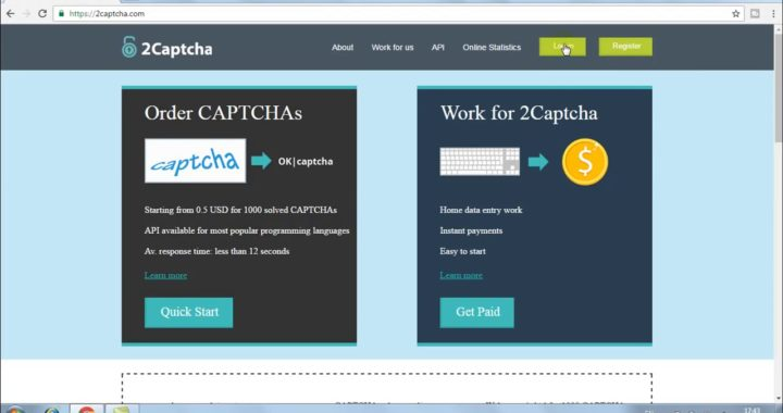 Earn Money 10$ Per Day By Doing Easy Captcha Work ! 2Captcha