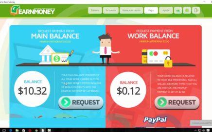 Earn Money Network Explicación Completa Gana Dinero en Piloto Automático y 10$ Gratis Enero 2018