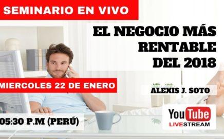 EL NEGOCIO MAS RENTABLE DEL 2018 (GANAR DINERO REAL POR INTERNET)