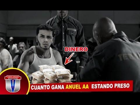 ENTÉRATE CUÁNTO DINERO GANA ANUEL AA DENTRO DE LA CÁRCEL