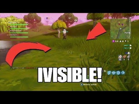*FACIL* COMO SER INVISIBLE EN FORTNITE BATTLE ROYALE!