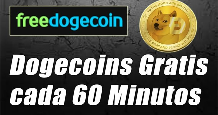 Freedogecoin Tutorial, Gana Dogecoin Gratis este 2018 | Gokustian