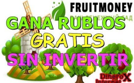 FRUITMONEY GANA RUBLOS GRATIS A PAYEER 2018 | PRUEBA DE PAGO |