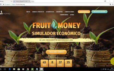 FruitMoney, PAGINA RUSA QUE PAGA AL INSTANTE - GANA DINERO DIARIAMENTE, + COMPROBANTE DE PAGO