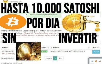 GANA 10000 Satoshis SIN Limite De Tiempo + PRUEBA DE PAGO| PAGANDO DESDE 2016