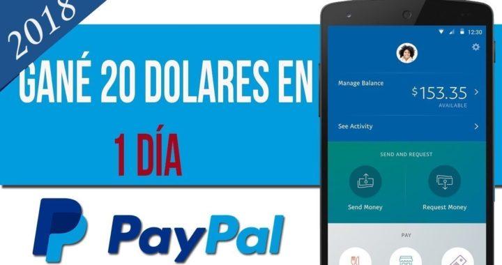 Gana 20 dolares diarios para PayPal