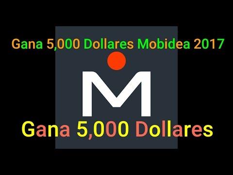 Gana 5,000 Dolares con mobidea 2017 Real