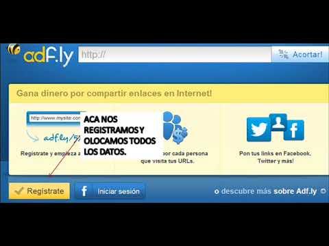 Gana Dinero Con ADF.LY Pasos Para Registrate y Para Acorta Tus Link..