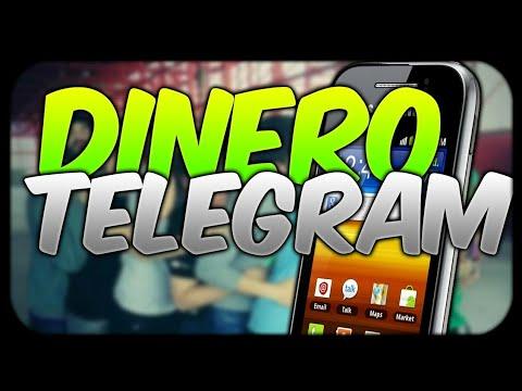 GANA DINERO CON TELEGRAM FACIL!! 100% REAL SERVER TELCEL