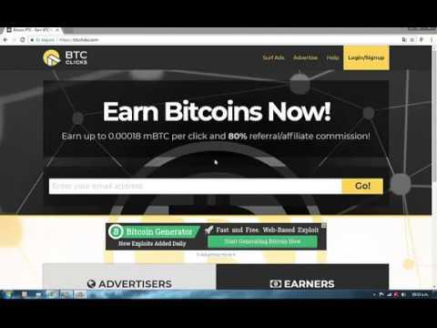Gana Dinero Desde Venezuela con BTC CLICKS Bitcoin