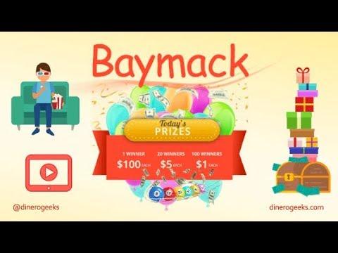 Gana dinero en  Baymack facil y rapido 2018 TIENES QUE HARCERLO GANA DINERO