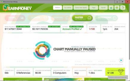 Gana Dinero en Paypal con Earn Money 2018