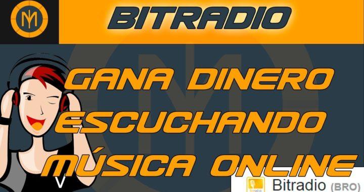 GANA DINERO ESCUCHANDO MÚSICA ONLINE | BITRADIO