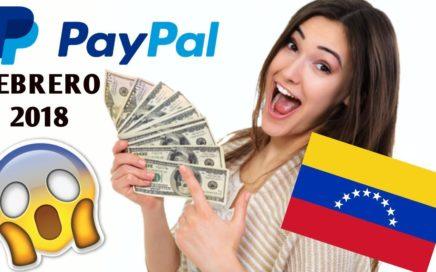 GANA DINERO!! Hasta 100 DOLARES!! Paypal VENEZUELA FEBRERO 2018