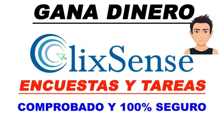 GANA DINERO POR INTERNET CON CLIXSENSE | ENCUESTAS |  TAREAS |