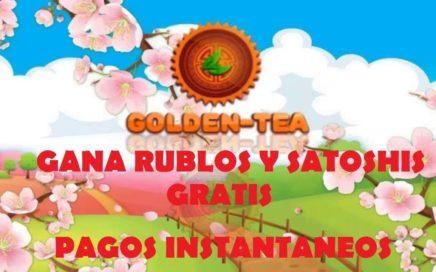 Gana dinero por internet CON O SIN INVERSION   Golden-Tea   MarTutoriales