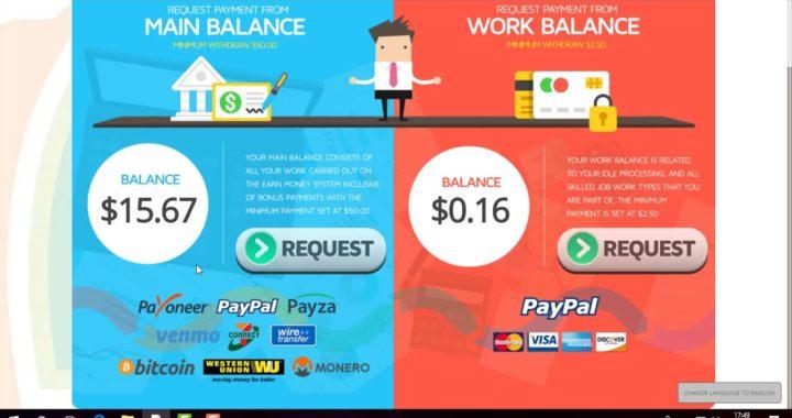 Gana dinero por internet desde casa con earnmoney +Promocion 2018