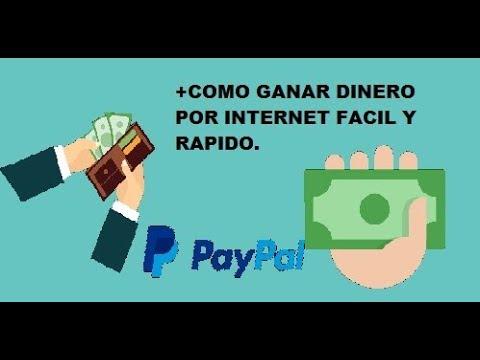 Gana dinero por internet facil y rapido Gratis 2018