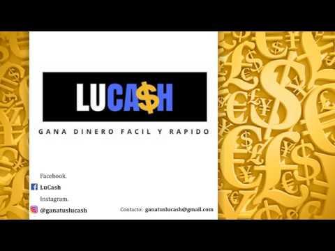 Gana dinero por internet sin invertir - Lucash