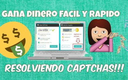 GANA DINERO RESOLVIENDO CAPTCHAS!!!FACIL Y RAPIDO *TUTORIAL* | 2CAPTCHA