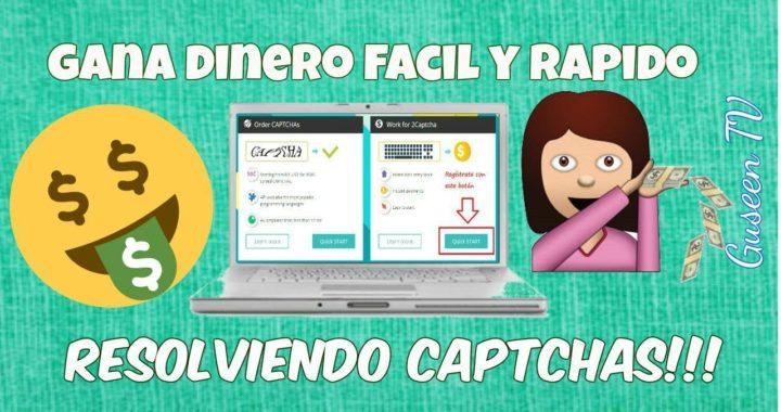 GANA DINERO RESOLVIENDO CAPTCHAS!!!FACIL Y RAPIDO *TUTORIAL* | 2CAPTCHA