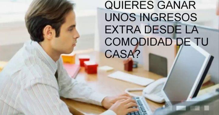 ¡GANA DINERO TRABAJANDO DESDE TU CASA!