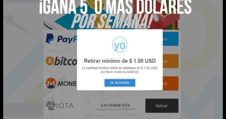 ¡GANA hasta 5$ DOLARES por SEMANA!