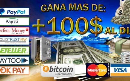GANA MAS DE 100$ AL DIA | LA MEJOR PAGINA PARA INVERTIR | GANA DINERO CADA 24 HORAS SIN HACER NADA