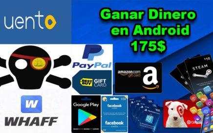 Ganar Dinero en Android: Facil, Rapido y Gratis, 100% Real y Pagando mas de 175$, Pruebalo