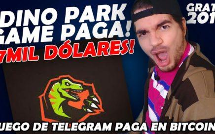 GANAR DINERO FÁCIL CON DINO PARK GAME - ¡PAGA EN BITCOINS!