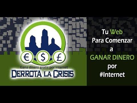 Ganar Dinero Gratis por Internet y consigue referidos por Derrota la Crisis