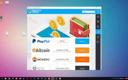 Ganar Dinero Minando con Desktop mining Gratis sin invertir Nada 2018